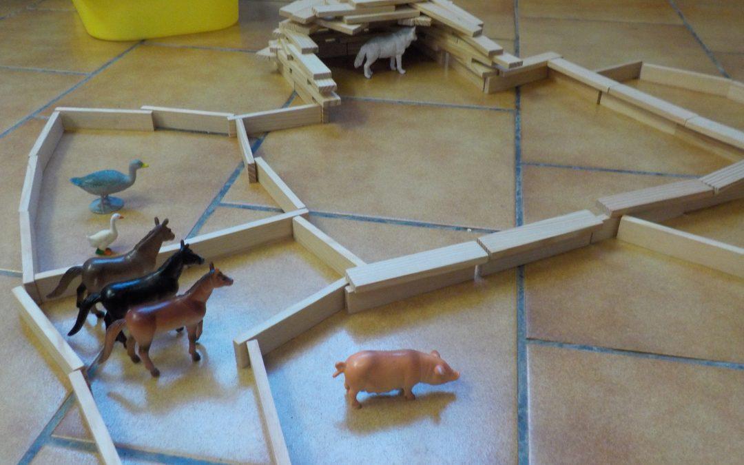 Mission de Noel: fabriquer un abris pour les animaux